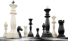 Chess5_2kings Photo stock