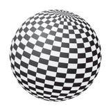 chessboard шарика Стоковое Изображение