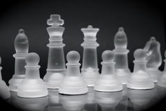 Chessboard_4 Royalty Free Stock Image