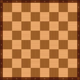Chessboard Algebraic Notation Top View Wooden Texture Stock Images