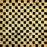 Chessboard background. Handcrafted chessboard background, grungy surface Royalty Free Stock Photos