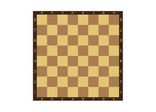Chessboard. A background, a chessboard with the alphabet and figures Royalty Free Stock Photography