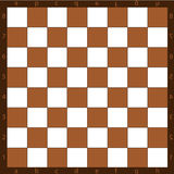 Chessboard. A background, a chessboard with the alphabet and figures Stock Photos