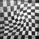 Chessboard background. Vivid grunge chessboard background with scratches Stock Photography