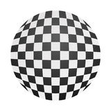 Chessboard ball Royalty Free Stock Photo
