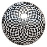 Chessboard ball Royalty Free Stock Photography