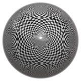 Chessboard ball Stock Photo