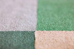 Chessboard carpet tiles Stock Images