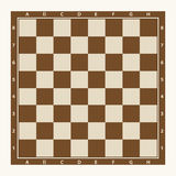Chessboard, chess. Chessboard icon. Flat design, vector illustration, vector Stock Image
