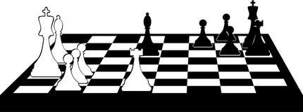 Chessboard clip art Stock Image