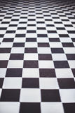 Chessboard floor Royalty Free Stock Photos