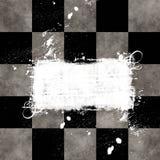 chessboard grungy Стоковое Фото