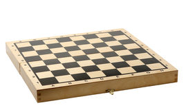 Chessboard, isolated Royalty Free Stock Photo