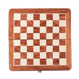 Chessboard isolated over white Royalty Free Stock Photos