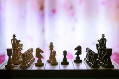 Chess, Italian opening royalty free stock images