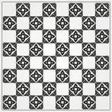 Chessboard ornate background vector. Ornate gray background, сeltic design vector illustration Royalty Free Stock Photos