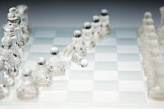 Chessboard pedestrians Stock Image