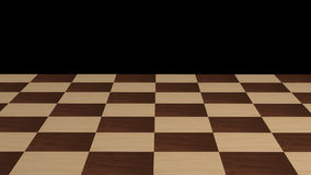 Chessboard without pieces Stock Photos