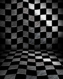 Chessboard room Stock Image