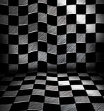Chessboard room Stock Photography