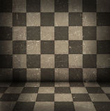 Chessboard room Stock Images