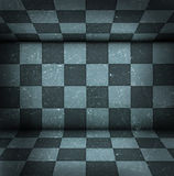 Chessboard room Royalty Free Stock Image