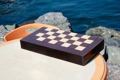 chessboard stół Zdjęcie Stock