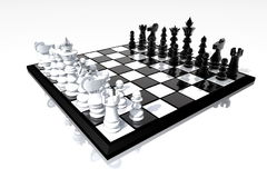 Chessboard still life Royalty Free Stock Photography
