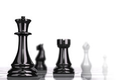 Chessboard Strategic Business Concept Stock Photos
