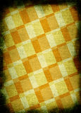 Chessboard style vintage background. With dark edges Stock Image