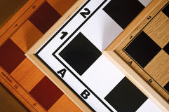Chessboard texutre Royalty Free Stock Photos