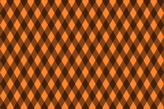 Chessboard vector pattern. Brown background Royalty Free Stock Photo