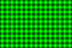 Chessboard vector pattern. Green background Royalty Free Stock Photo