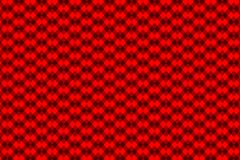 Chessboard vector pattern. Red background Royalty Free Stock Photography