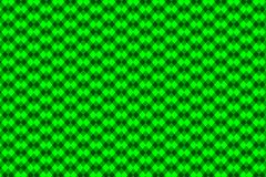 Chessboard vector pattern. Green background Stock Image