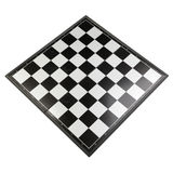 Chessboard view perspective Royalty Free Stock Photography
