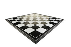 Chessboard view perspective Stock Images