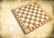 Chessboard Wood Royalty Free Stock Photos