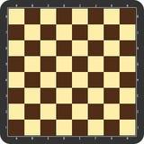 Chessboard z popielatą ramą Fotografia Stock