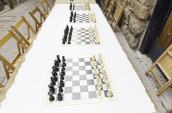 Chessboards Stock Image