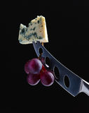 Chesse and grape Stock Photo