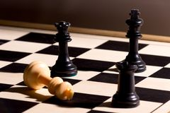 Chessmate Royalty Free Stock Photo