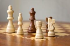 chessmen доски Стоковое Фото