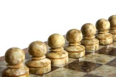 Chessmen Royalty Free Stock Photos