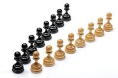 Chessmen images libres de droits