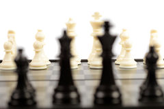 Chessmen photo stock