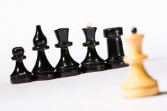 Chessmen Royaltyfria Foton