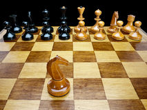 Chessmen Стоковая Фотография RF