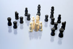 Chessmen Stock Photography