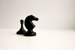 Chessmen. Concept of business game Royalty Free Stock Image